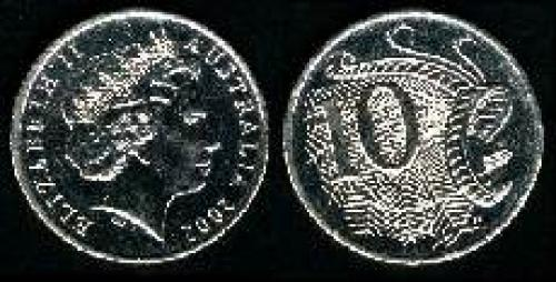 10 cents; Year: 1999; (km 402)