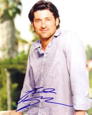 Patrick Dempsey autographed 8x10 portrait photo