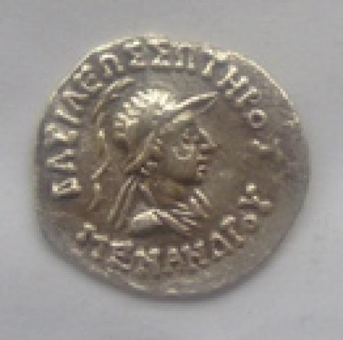 Indo-Greek Menander.