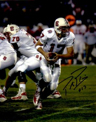 Philip Rivers autographed North Carolina State 8x10 photo