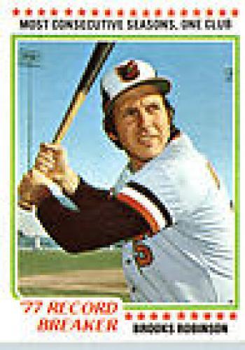 Brooks Robinson  Baseball Card