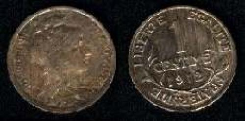 1 centime 1898-1920 (km 840)