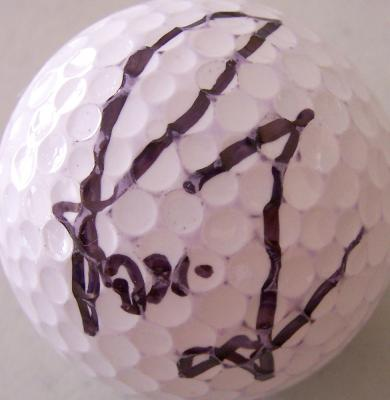 Rosie Jones (LPGA) autographed golf ball