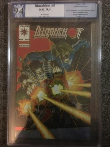 Bloodshot #0 *PGX graded 9.4