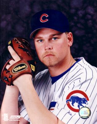 Kerry Wood 8x10 Chicago Cubs photo