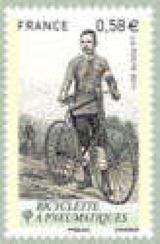 Bicycle with tires (1890)