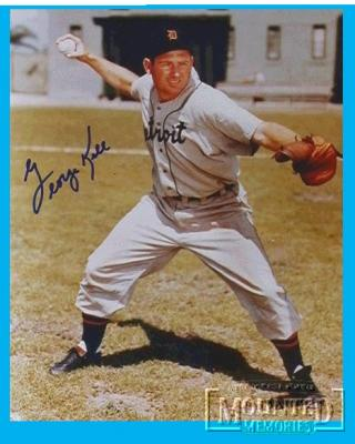 George Kell autographed Detroit Tigers 8x10 photo
