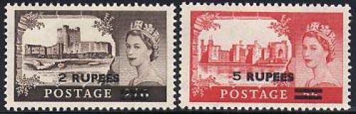 Definitives 2v; Year: 1955