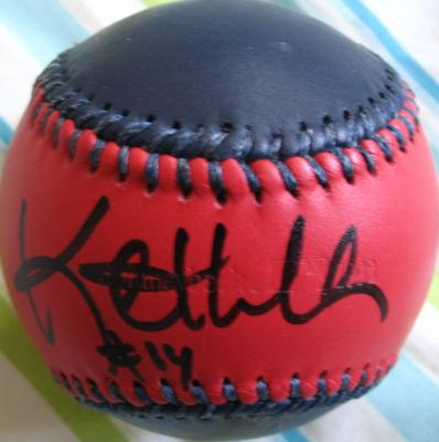 Kent Hrbek autographed Minnesota Twins logo baseball