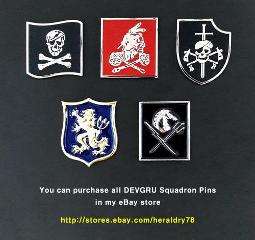 Devgru silver team patch