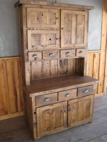 Reclaimed Step Back Cupboard