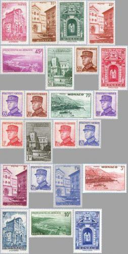 Definitives, views 23v; Year: 1938