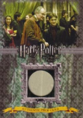 Harry Potter &amp; the Half-Blood Prince prop card P6 Slughorn&#039;s Drapes #/330