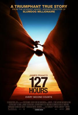 127 Hours movie poster (James Franco)