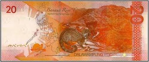 Banknotes; New Generation Philippine Banknotes 20 Pesos