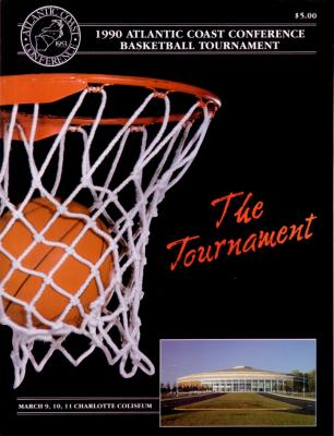 1990 ACC Basketball Tournament program (Georgia Tech)