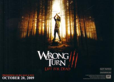 Wrong Turn 3 2009 Comic-Con Fox 5x7 promo card