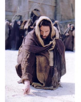 Jim Caviezel autographed The Last Temptation of Christ 8x10 photo
