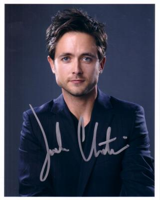 Justin Chatwin autographed Shameless 8x10 photo