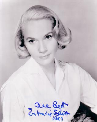 Eva Marie Saint autographed North by Northwest 8x10 photo