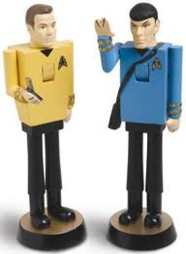 Memorabilia; Star Trek  Nut Crakers