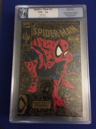 Spider-man #1 Gold edition