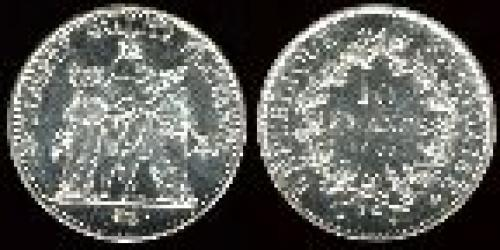10 francs; Year: 1965-1973; (km 932)