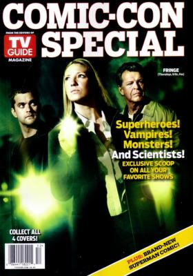 Fringe 2010 Comic-Con TV Guide magazine