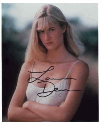 Laura Dern autographed 8x10 photo