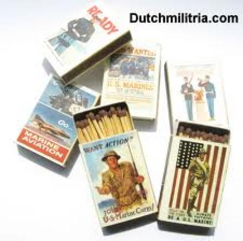 US Marine recruitment Match box Collection