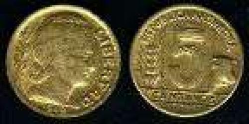 5 Centavos; Year: 1942-1950; (km 40); bronce; TRIGO GANADO