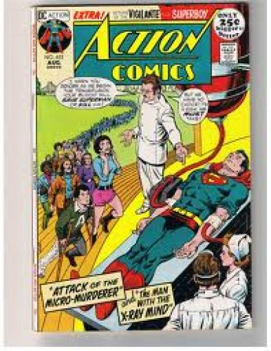 Comics; Action Comics #403:  Attack of the Micro-Murderer