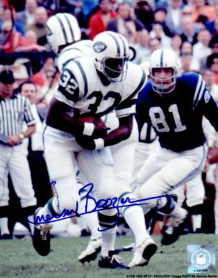 Emerson Boozer autographed 8x10 New York Jets photo