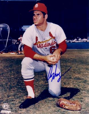 Al Hrabosky autographed 8x10 St. Louis Cardinals photo