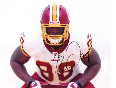 Brian Orakpo autographed Washington Redskins 8x10 photo