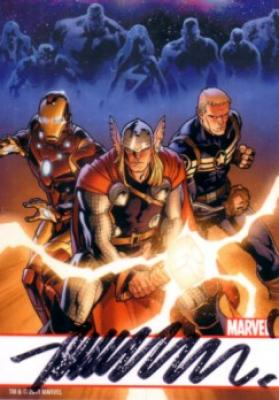 Matt Fraction autographed Marvel Thor comic book card