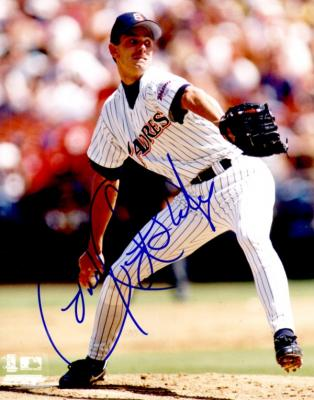 Andy Ashby autographed San Diego Padres 8x10 photo