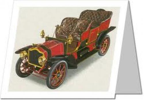 Postcards Classic Cars - Serpollet Steam Car - 1900-1903 France