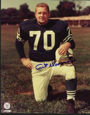 Art Donovan autographed 8x10 Baltimore Colts photo