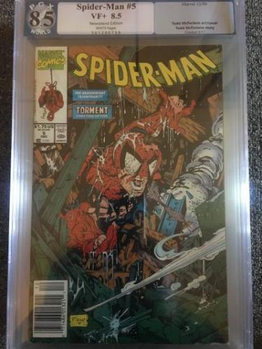 Spider-Man #5   *PGX 8.5