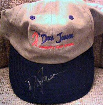 Dan Jansen autographed Celebrity Golf Classic cap or hat