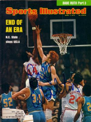 Bill Walton autographed UCLA 1974 Sports Illustrated