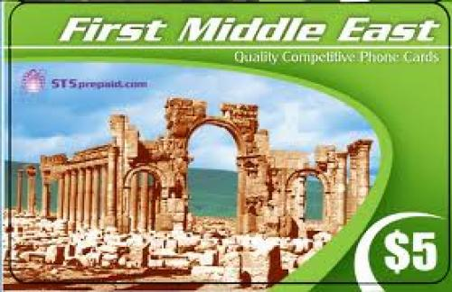 Phone Card; First Middle East Calling Card