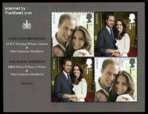Royal wedding William &amp; Kate s/s