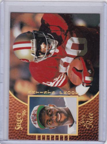 1996 SCORE SELECT ARTISTS PROOF TOUGH INSERT JERRY RICE
