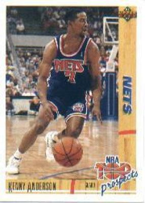 Kenny Anderson Nets 1991-92 Upper Deck Rookie Card