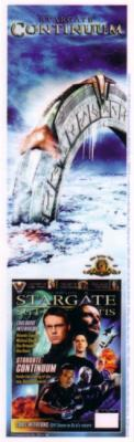 Stargate Continuum 2008 Comic Con promo bookmark