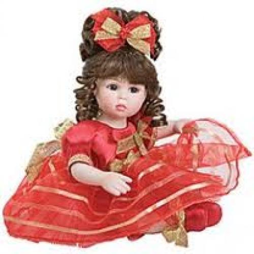 Dolls; Marie Osmond's Winter Glow Tiny Tot Doll