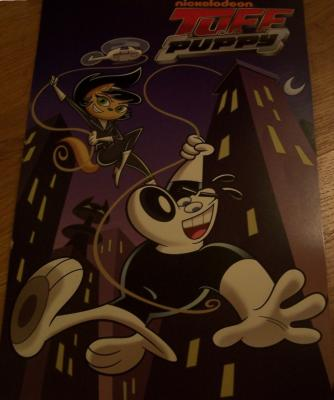 TUFF Puppy 2010 Comic-Con Nickelodeon promo poster