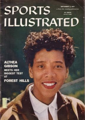 Althea Gibson 1957 Sports Illustrated